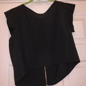 B Jewel black blouse